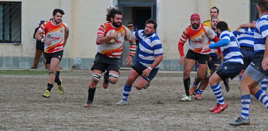 Gara di recupero per la Nissa Rugby, impegnata a Roma contro il club Villa Pamphili