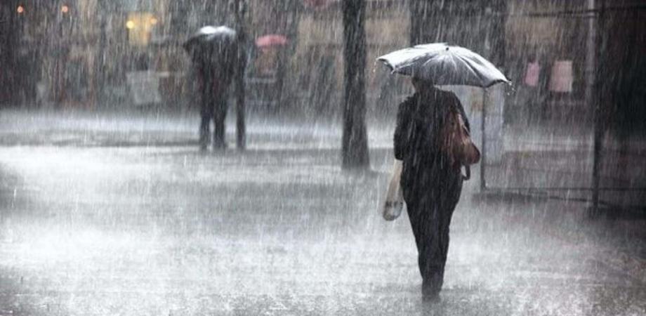 Sabato di pioggia in Sicilia, sbalzi di temperature fino a 10-15 gradi in 48 ore