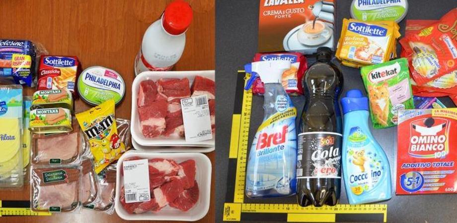 Caltanissetta, furto al supermercato: denunciata un'intera famiglia