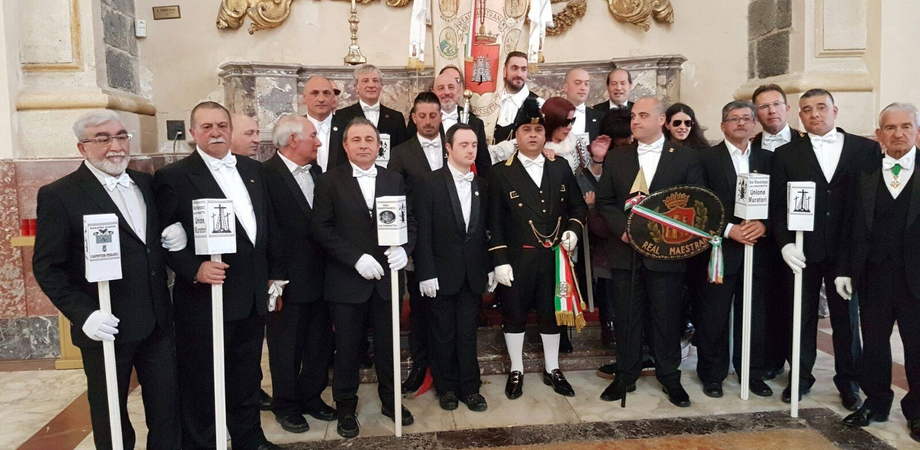 Omaggio della Real Maestranza a Sant'Agata: a guidare la delegazione il capitano Castelli