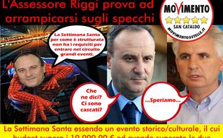 San Cataldo, niente soldi per la Settimana Santa: M5S chiede dimissioni assessore Riggi