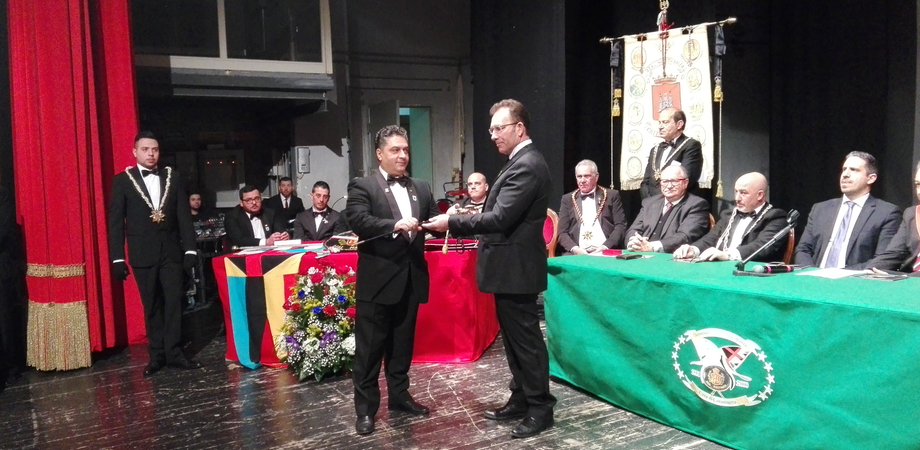 Caltanissetta, Real Maestranza: al Teatro Margherita passaggio di consegne tra i capitani