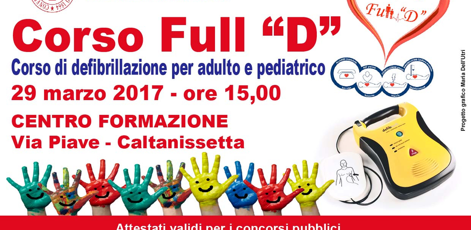Caltanissetta, Croce Rossa: un corso sull'uso del defibrillatore rivolto alla popolazione