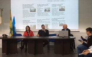 Caltanissetta, il magistrato Lia Sava e l'ispettore Falzone intervistati da piccoli reporter