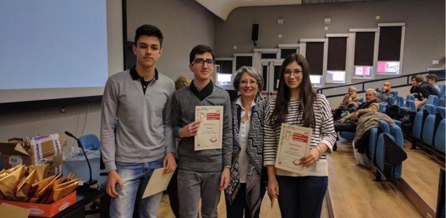 """Ancora una medaglia per il liceo """"Volta"""" di Caltanissetta alle Nazionali Euso"""