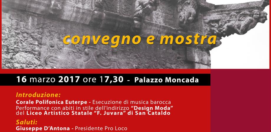 """Caltanissetta, a """"Palazzo Moncada"""" convegno sul Barocco con degustazione finale"""