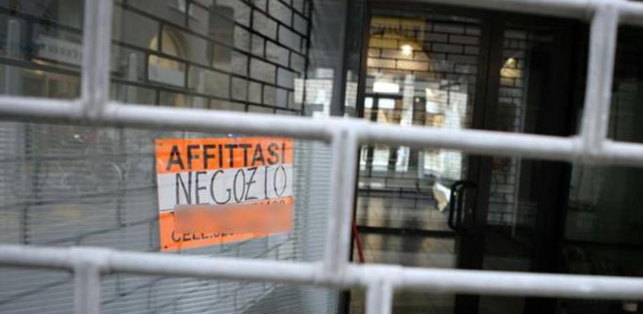 A Caltanissetta il primato del più alto numero di negozi sfitti:  8,6% rispetto al 2016