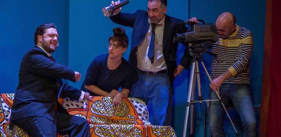 """Caltanissetta, al teatro """"Rosso di San Secondo"""" si ride con """"Professione falsi invalidi"""""""