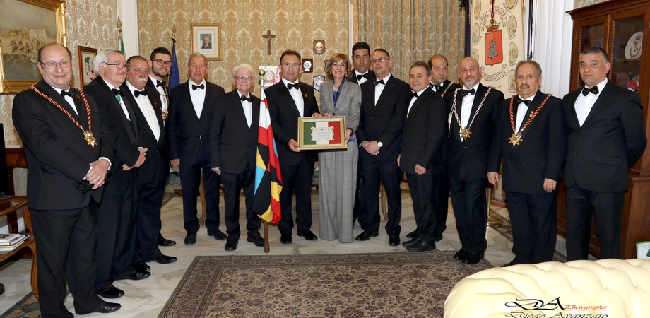 Caltanissetta, Real Maestranza: dalla visita al prefetto al momento di preghiera con il vescovo