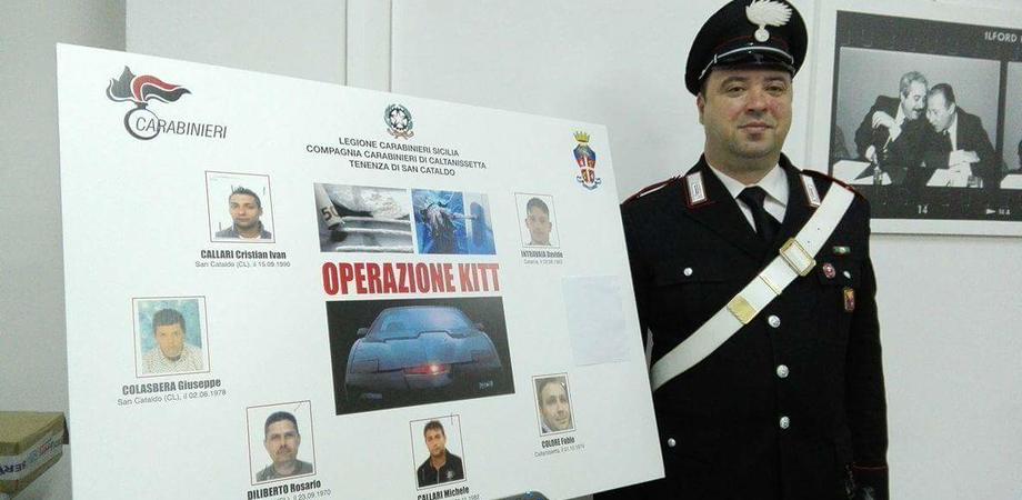 """San Cataldo, operazione """"Kitt"""": nomi e foto dei sei arrestati nella notte"""