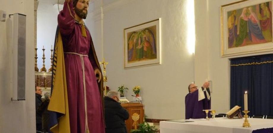 """Caltanissetta, alla parrocchia """"Regina Pacis"""" l'arrivo di Gesù Nazareno"""