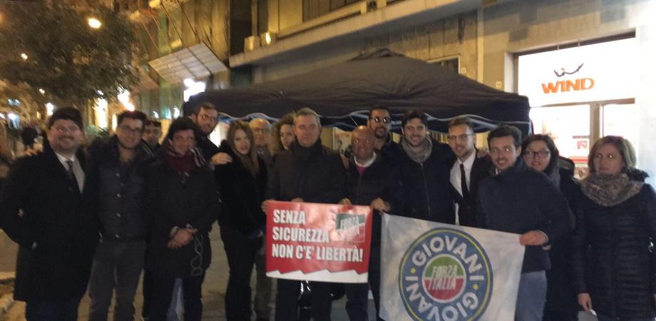Caltanissetta, fine settimana dedicato al tema della sicurezza per Forza Italia