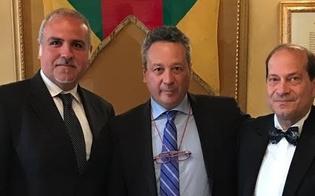 Caltanissetta, delegazione di Gubbio  incontra il sindaco Giovanni Ruvolo