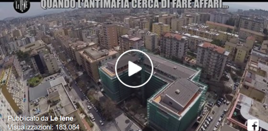 """""""Quando l'antimafia cerca di fare affari"""", Le Iene tornano a Caltanissetta"""