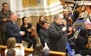San Cataldo, alla Chiesa Madre l'Emmaus eseguito da una splendida orchestra
