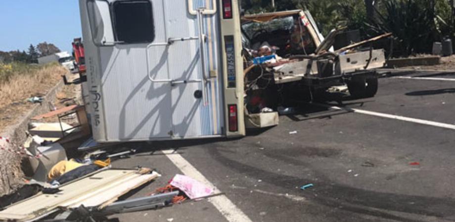 Gravissimo incidente sulla Gela-Licata: una donna trasportata in elisoccorso al Sant'Elia