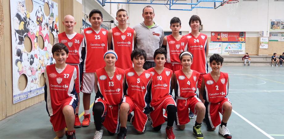 Caltanissetta, basket: schiacciante vittoria dell'Invicta under 13 contro il Gela