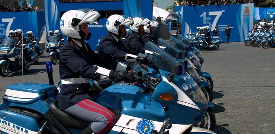 La Polizia Stradale compie 70 anni: festeggiamenti a Palazzo Reale