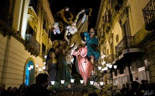 La Settimana Santa nissena sul mensile di aprile della rivista Touring Club Italiano