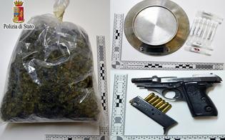 Mazzarino, 10mila piante di marijuana tra le vigne: 5 arrestati dalla Squadra Mobile