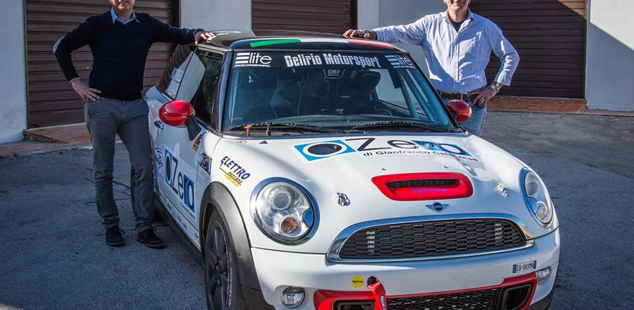 I nisseni Grimaldi e Pastorello alla Targa Florio a bordo di una Mini Cooper