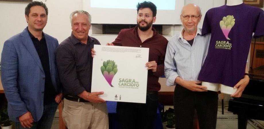 Un marchio per il carciofo violetto di Niscemi: il logo in dono al Comune