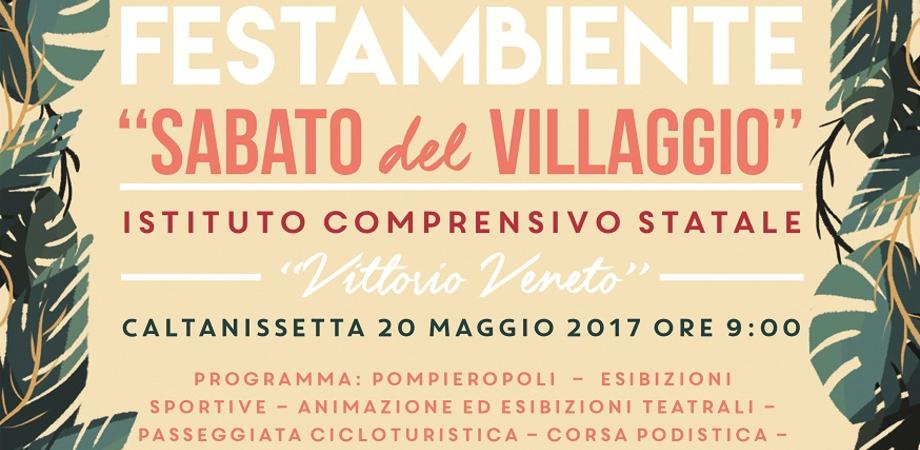 """Caltanissetta, a Santa Barbara la V edizione di """"FestAmbiente - Sabato del Villaggio"""""""