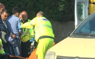 Caltanissetta, incidente in via Due Fontane: 18enne finisce in ospedale