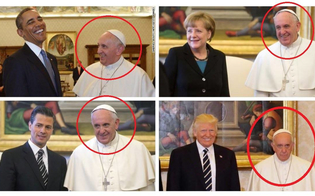 Donald Trump non ne azzecca una: e la faccia di Papa Francesco diventa virale