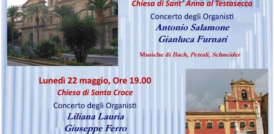 """Caltanissetta, al via la rassegna organistica """"In tempore Paschali"""" del liceo musicale"""