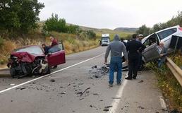 Scontro frontale sulla Ss 122 tra Enna e Caltanissetta: 3 donne ferite