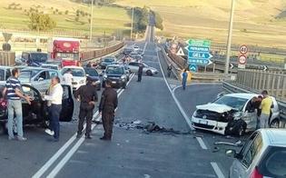 Lo scontro sulla Caltanissetta-Gela: automobilista trovato positivo alla cocaina