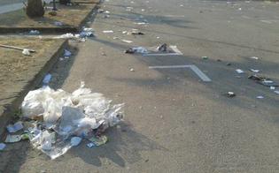 Caltanissetta, mercatino settimanale: gli ambulanti non puliscono e il sindaco li diffida