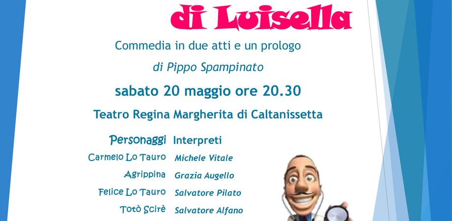 """Caltanissetta, al teatro Margherita i Lions in scena con """"Un capriccio di Luisella"""""""