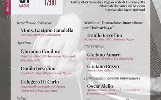 A Caltanissetta si inaugura la nuova sede dell'Università telematica Pegaso