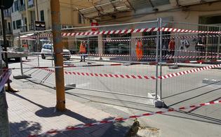 Caltanissetta, lavori in via Calabria: la strada resterà chiusa per dieci giorni