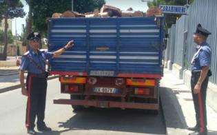 Niscemi, rubano 5000 kg di legna dalla diga: 4 arrestati dai carabinieri