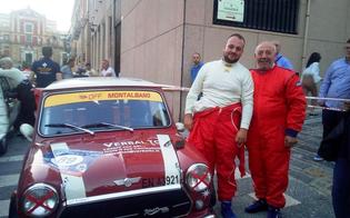 Dalla politica alle quattro ruote: Territo torna al Rally di Caltanissetta, questa volta con il figlio