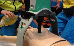 Caltanissetta, ambulanze nuove per il 118 e il nuovo massaggiatore automatico Lucas