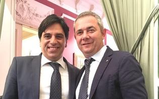 Il coordinatore provinciale di Forza Italia Michele Mancuso in visita a Bruxelles al Parlamento Europeo
