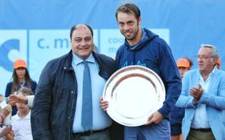 Tennis, Lorenzi fa il bis a Caltanissetta: battuto in due set Giannessi