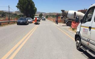 Caltanissetta, scooter finisce contro una betoniera: 47enne nisseno in gravi condizioni