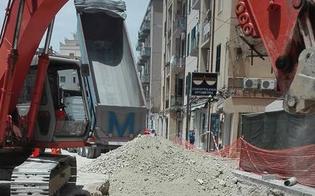 Caltaqua, completati i lavori in via Calabria: martedì pomeriggio riaprirà al traffico