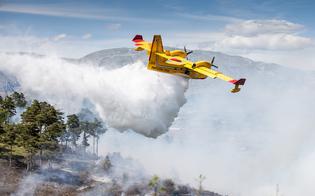 Incendi, 60 interventi a Caltanissetta e provincia: a Marianopoli ettari di terreno in fumo