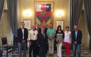 Caltanissetta, il sindaco riceve i sette nuovi Maestri del Lavoro