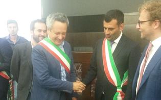 Manto in erba sintetica al Tomaselli: il sindaco Ruvolo firma convenzione a Roma