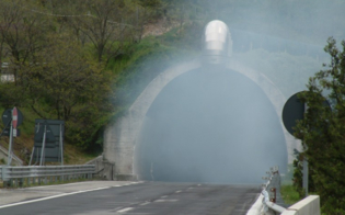 Fumo dentro le gallerie, traffico chiuso sulla A19 presso lo svincolo di Enna