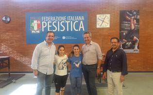 Pesistica, il sindaco Ruvolo e l'assessore Campione a Roma incontrano le sorelle Pagliaro
