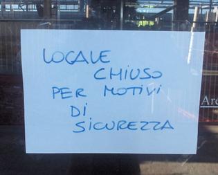 Caltanissetta, bar chiuso a seguito di una rissa per motivi di ordine pubblico