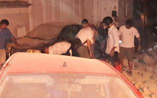 Terremoto a Ischia, due morti: bimbo di 7 mesi estratto vivo dalle macerie